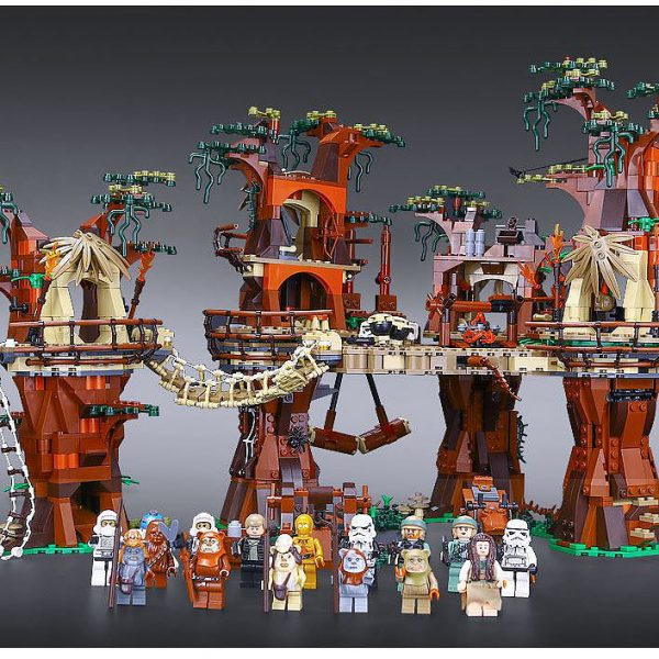 LEPIN Ewok Village 05047 - Lepin Star Wars