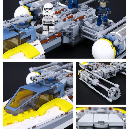 LEPIN Y-Wing Starfighter 05065 - Lepin Star Wars Sets