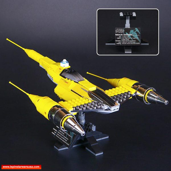 LEPIN Naboo Starfighter 05060 - Lepin Star Wars Sets