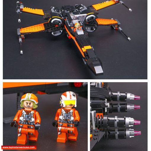 LEPIN Poe's X-Wing Fighter 05004 - Lepin Star Wars Sets