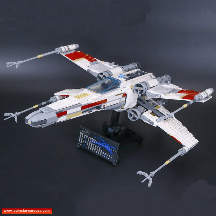 LEPIN 05039 The X Wing Red Fighter