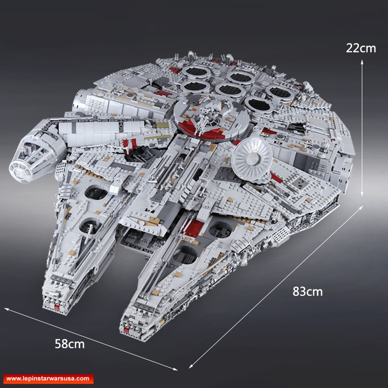 LEPIN 05132 Ultimate Millenium Falcon
