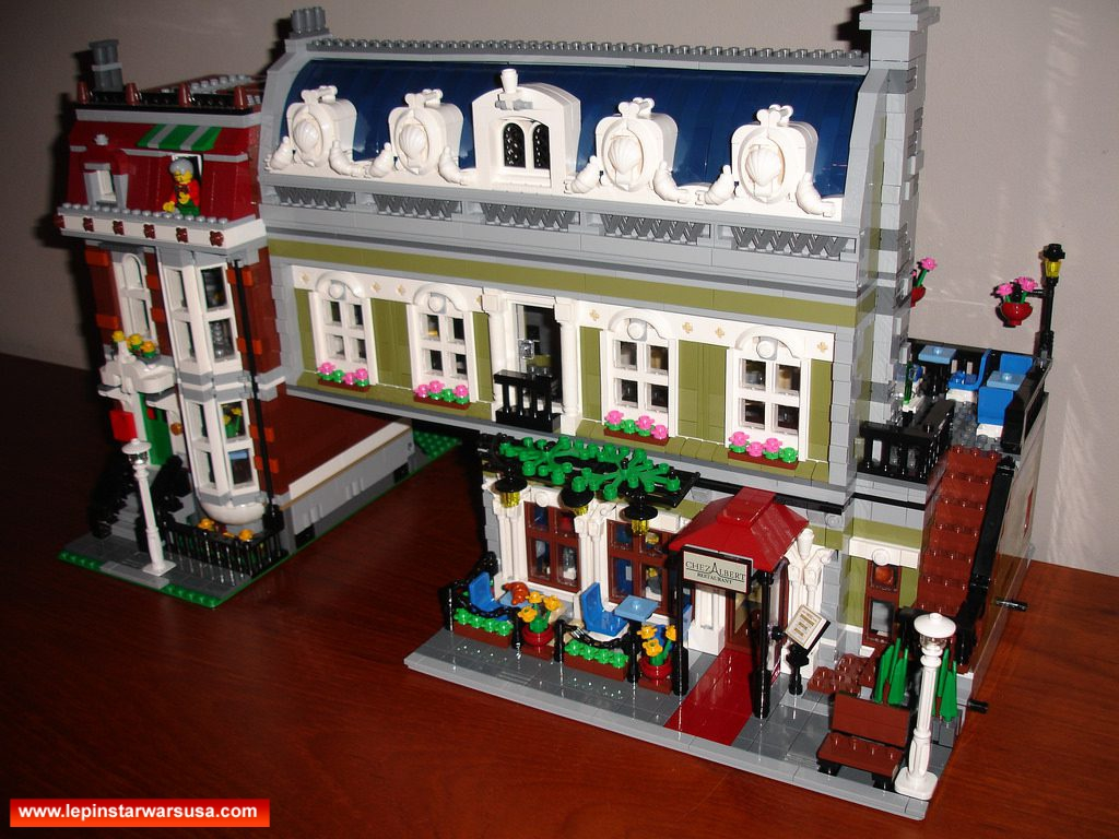 Review LEPIN 15010 Parisian Restauran – Compatible LEGO 10243