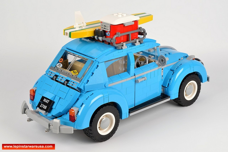 Review LEPIN 21003 Volkswagen Beetle Competiable with LEGO 10252