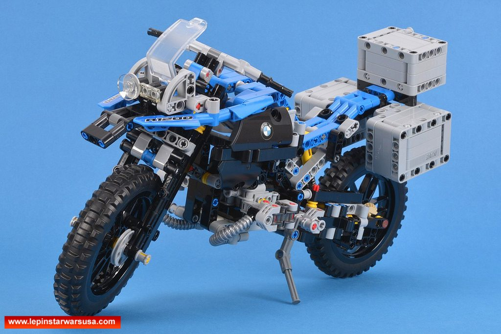 Review LEPIN 20032 BMW R 1200 GS Adventure Competiable with LEGO 42063