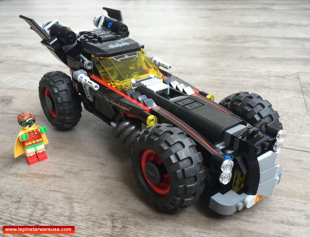 Review LEPIN 07045 The Batmobile – Compatible LEGO 70905