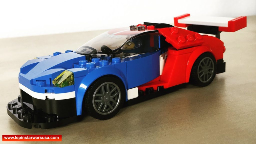 Review LEPIN 28004 2016 Ford GT & 1966 Ford GT40 – Compatible LEGO 75881