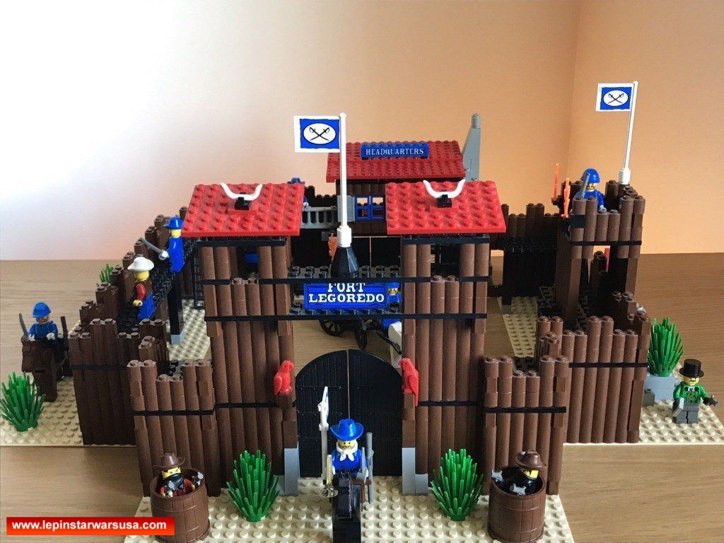 Review LEPIN 33001 Wild West Fort Legoredo competiable with LEGO 6769