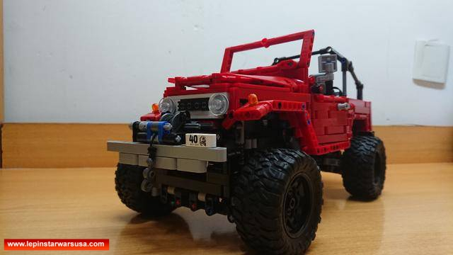Review LEPIN 20053 Hatchback Type R – Compatible with LEGO MOC